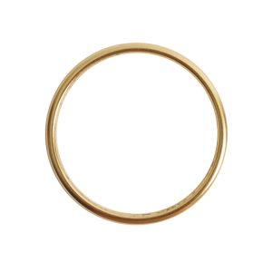 Open Frame Hoop LargeAntique Gold
