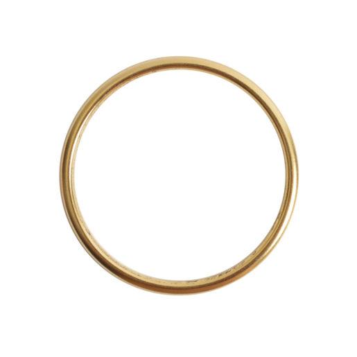 Open Frame Hoop Large<br>Antique Gold 1