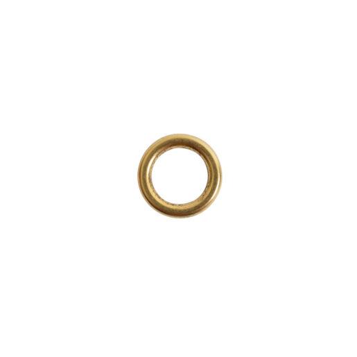 Open Frame Hoop Mini<br>Antique Gold 1