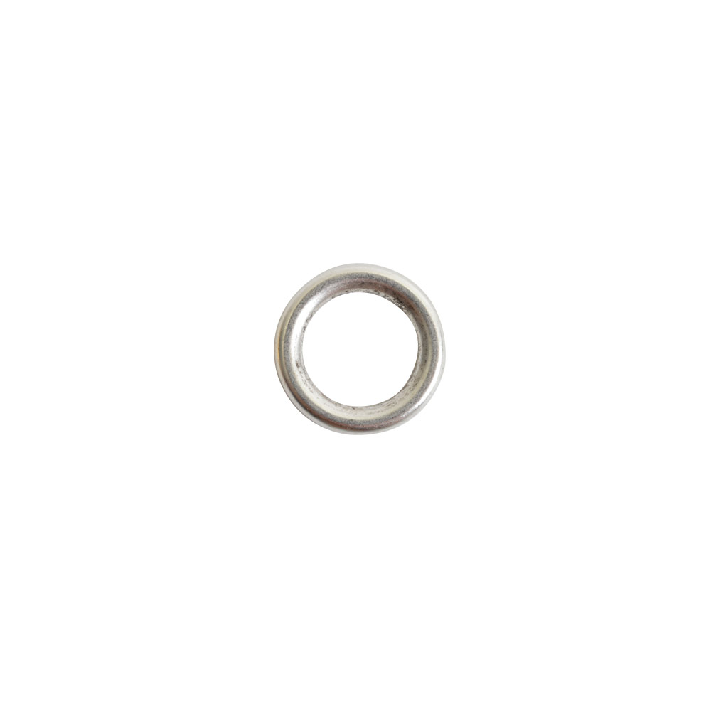 Open Frame Hoop MiniAntique Silver