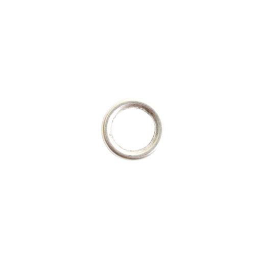 Open Frame Hoop Mini<br>Sterling Silver Plate 1