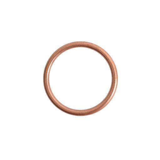 Open Frame Hoop SmallAntique Copper