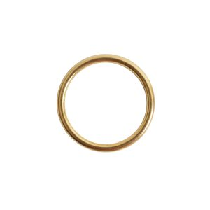 Open Frame Hoop Small<br>Antique Gold