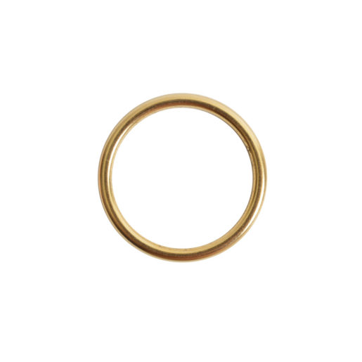 Open Frame Hoop Small<br>Antique Gold 1