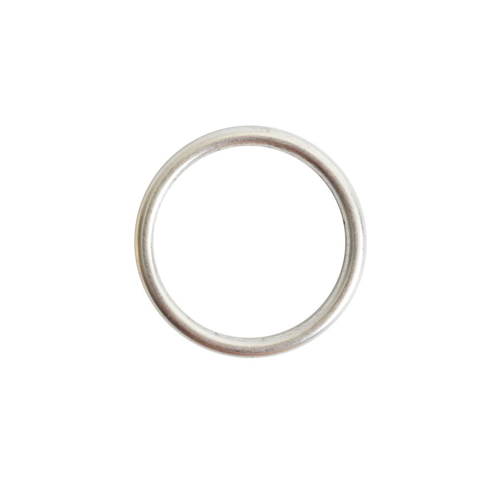 Open Frame Hoop SmallAntique Silver