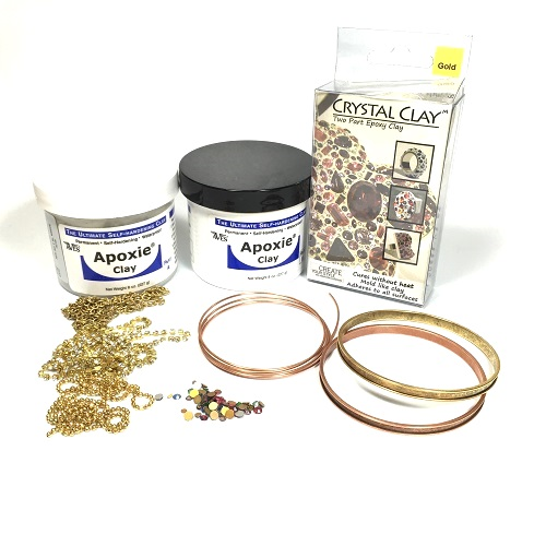 supplies+for+morse+code+resin+clay+bangle+tutorial