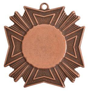 Brass Medallion Grande Starburst Single LoopAntique Copper