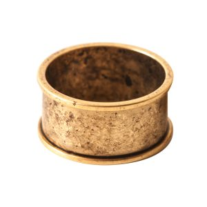 Ring Channel Size 6Antique Gold