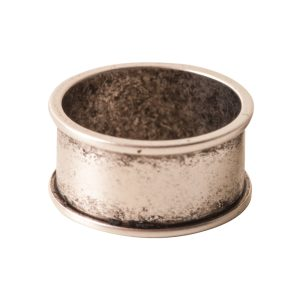 Ring Channel Size 6Antique Silver
