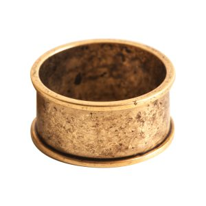 Ring Channel Size 7Antique Gold