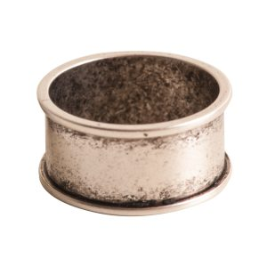 Ring Channel Size 7Antique Silver