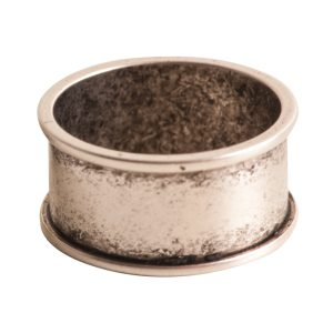 Ring Channel Size 8Antique Silver