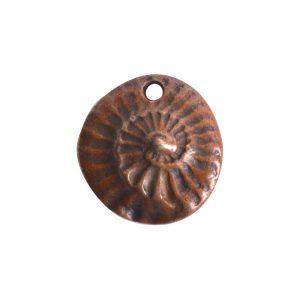 Charm GuadalupeAntique Copper