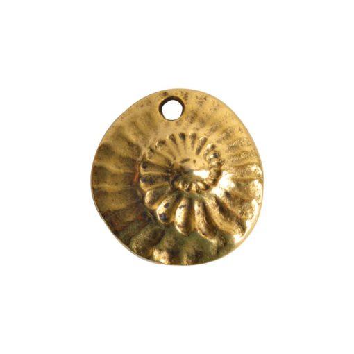 Charm GuadalupeAntique Gold