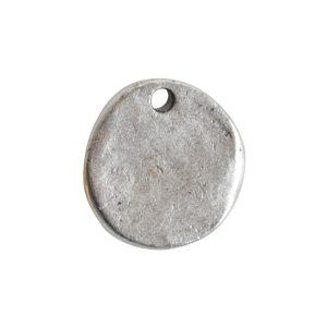 Charm GuadalupeAntique Silver