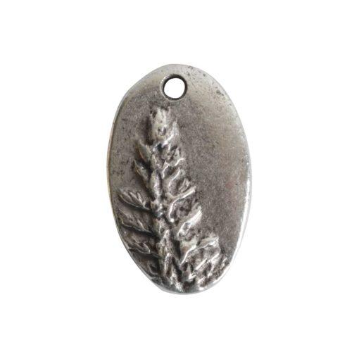 Charm RedwoodAntique Silver
