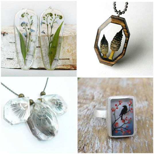 271c351a89e841 9 Resin Jewelry Trends to be Inspired By! | Nunn Design