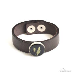 Resin Flower Bracelet