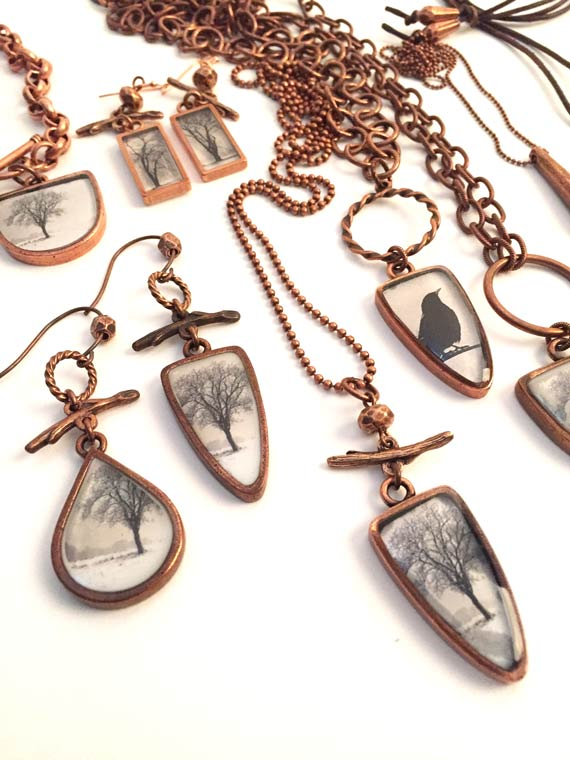 Resin Bezel Jewelry