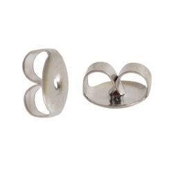 Earring Clutch Butterfly StyleSurgical Steel