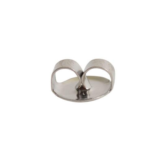 Earring Clutch Butterfly Style<br>Surgical Steel 1