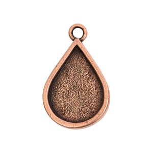 Grande Pendant Drop Single LoopAntique Copper
