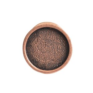 Lapel Pin Mini Circle<br>Antique Copper