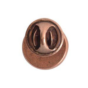 Lapel Pin Mini CircleAntique Copper