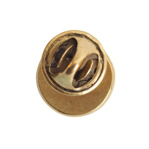 Lapel Pin Mini CircleAntique Gold