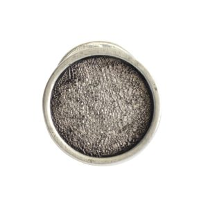 Lapel Pin Mini CircleAntique Silver