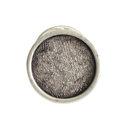 Lapel Pin Mini CircleAntique Silver