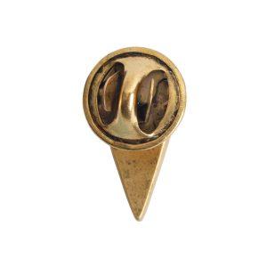 Lapel Pin Mini Heart<br>Antique Gold