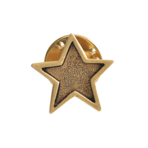 Lapel Pin Mini Star<br>Antique Gold 1
