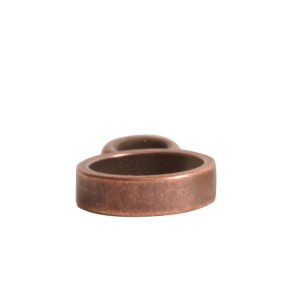 Open Frame Itsy Circle Single Loop<br>Antique Copper