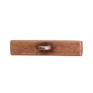 Toggle Bar Channel RectangleAntique Copper