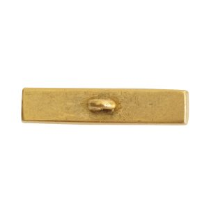 Toggle Bar Channel RectangleAntique Gold