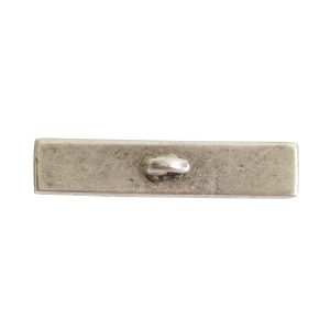 Toggle Bar Channel RectangleAntique Silver