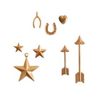 Buy & Try Findings Brass StampingsLucky Charms