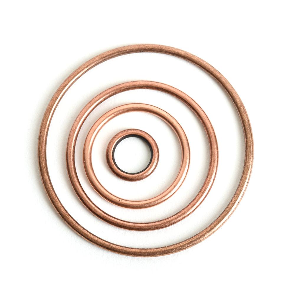Buy & Try Findings Open Frame Hoop Combo PackAntique Copper