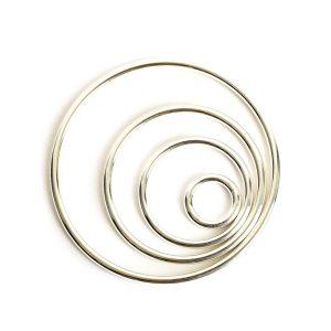 Buy & Try Findings Open Frame Hoop Combo PackSterling Silver Plate