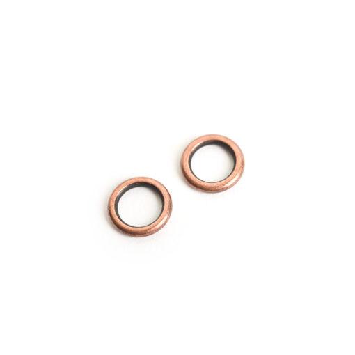 Buy & Try Findings Open Frame Hoop MiniAntique Copper