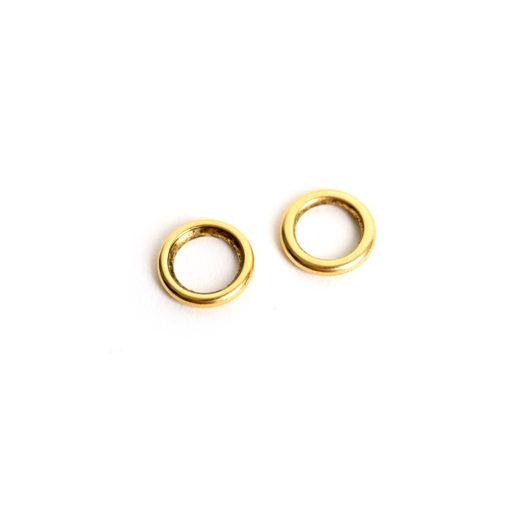Buy & Try Findings Open Frame Hoop MiniAntique Gold