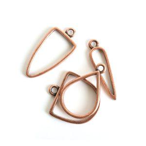 Buy & Try Findings Open Pendant Combo PackAntique Copper