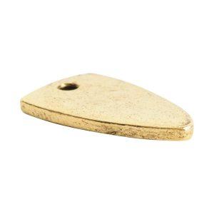 Flat Tag Mini ArrowheadAntique Gold