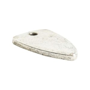 Flat Tag Mini ArrowheadAntique Silver
