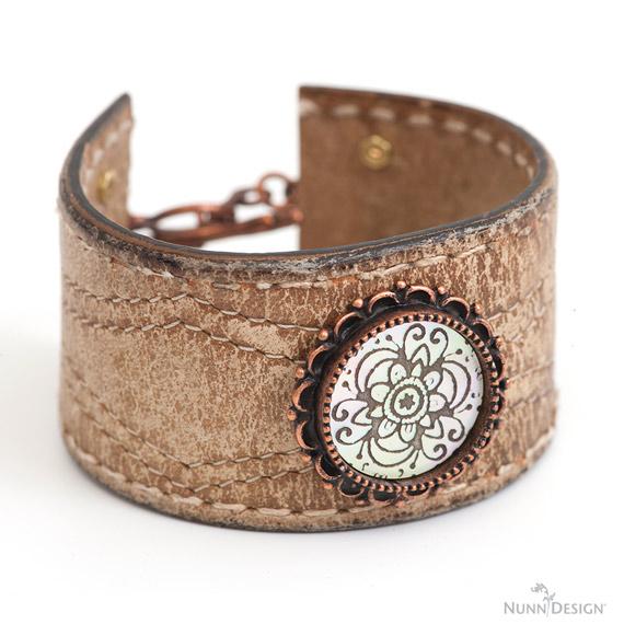 Lillypilly Nunn Design Cabochon Bracelet