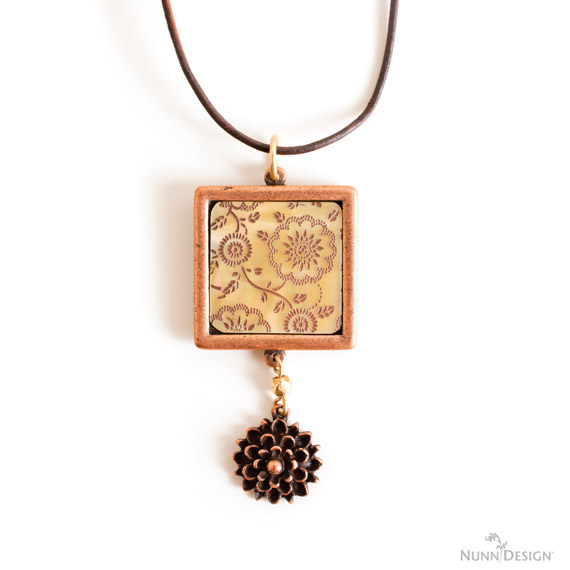 Lillypilly Nunn Design Cabochon Necklace