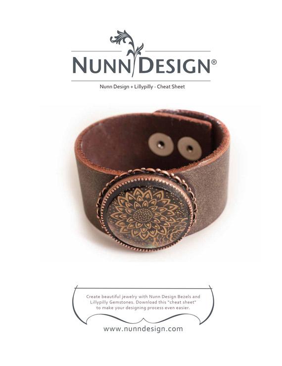 Lillypilly Nunn Design Cabochon Cheatsheet