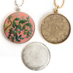 Jewelry Kits for Embroidery - Grande Circle Bezels