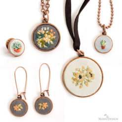 Make Embroidery Jewelry! Wholesale DIY Kits